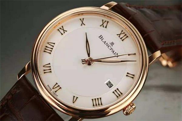 寶珀手表金色
