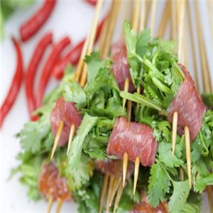 元吉串串香香菜肉串