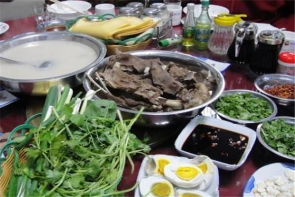 孫玉國羊湯套餐