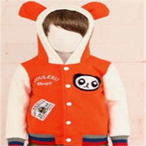 乐酷童装棒球外套