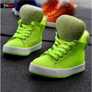 小贝潮品童鞋绿色