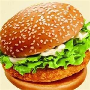 派克西式快餐汉堡