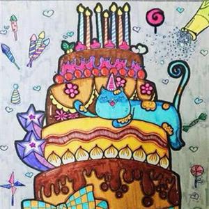 東城美術少兒蛋糕
