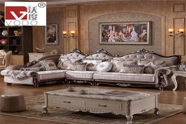 沃度家具欧式风格沙发