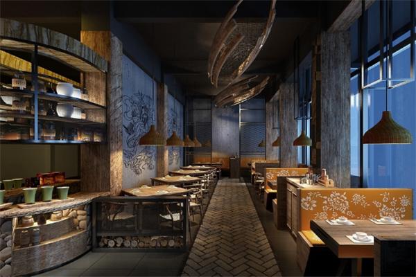 墨西哥靈得餐廳設計