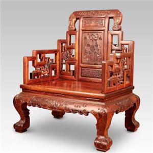 中韵轩红木家具太师椅