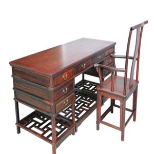 中韵轩红木家具书桌