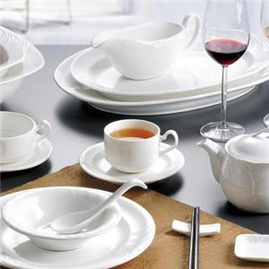 陶藝餐具瓷白