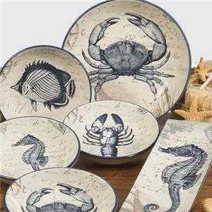 陶藝餐具圖案