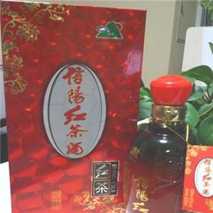 信阳红茶酒包装