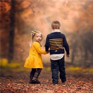 天使儿儿童摄影秋天