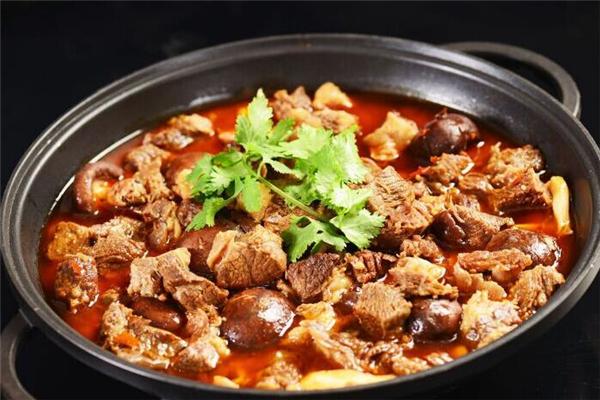 楠朝鲜牛腩火锅香菜