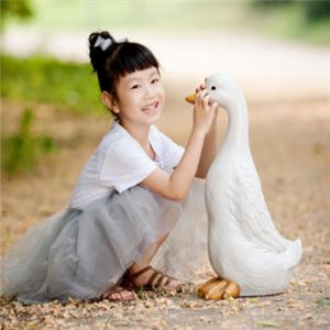 宋灵儿儿童摄影小动物