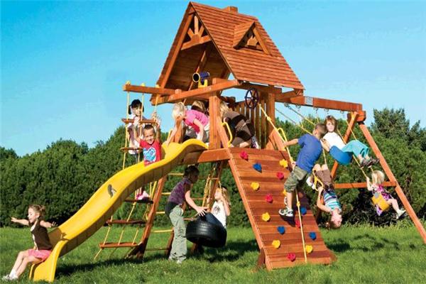 彩虹儿童乐园环境
