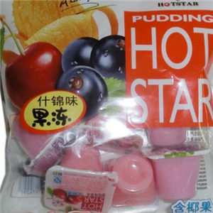 HOTSTAR休閑食品什錦味果凍