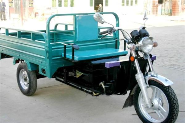 金隆電動三輪車藍色