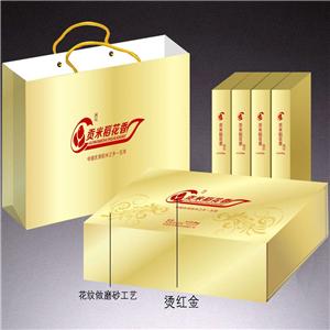 貢米稻花香包裝