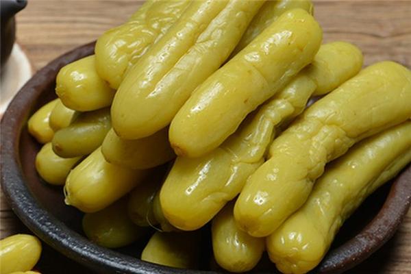 居延乳瓜醬泡菜產品