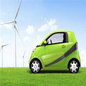奇強電動汽車綠色