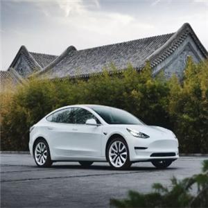奇强电动汽车白色