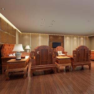 強藝紅木家具沙發