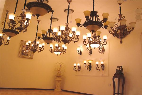 睿藝燈飾復古