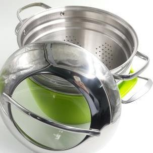 綠的炒鍋蒸鍋
