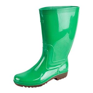 金橡雨鞋綠色