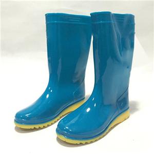 金橡雨鞋藍色