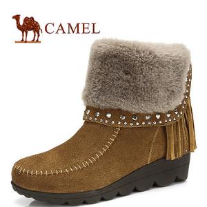 駱駝雪地靴加盟