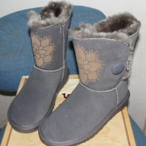 駱駝雪地靴漂亮