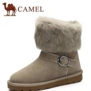 駱駝雪地靴材質好