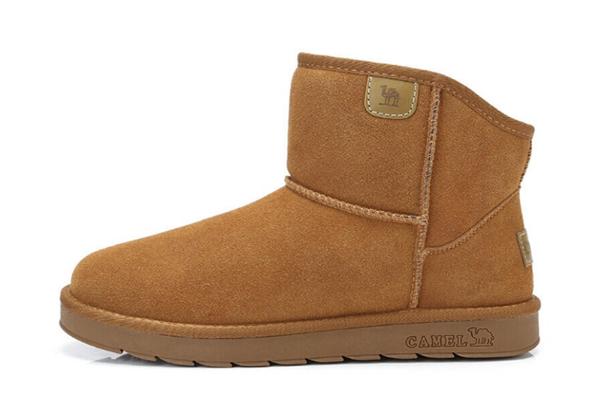 駱駝雪地靴舒適