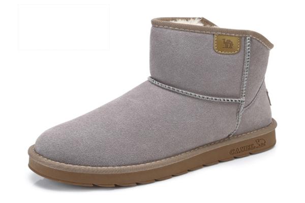 駱駝雪地靴質量好