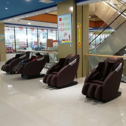 索弗扫码共享按摩椅商场