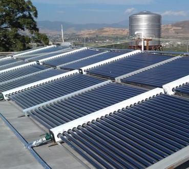 益家阳太阳能热水器发电