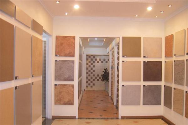 福贝诺瓷砖产品陈列
