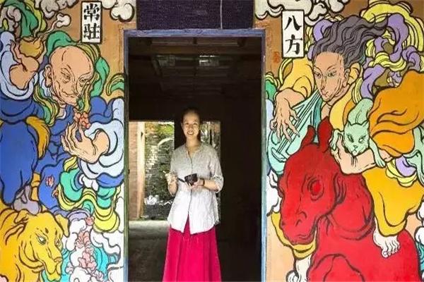 文娜壁畫專業