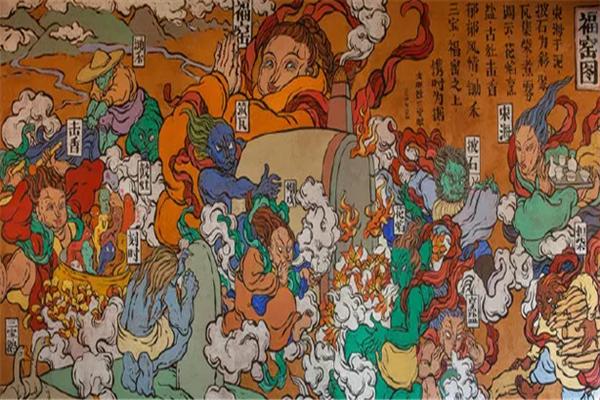 文娜壁畫優質