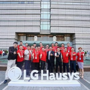 LG Huasys合影