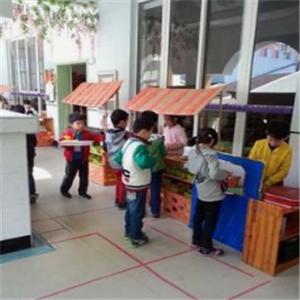 金城堡艺术幼儿园打饭区