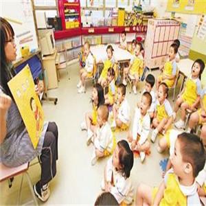 九莲新村幼儿园课堂