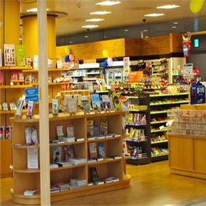 罗森超市货架