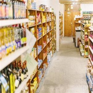 罗森超市陈列