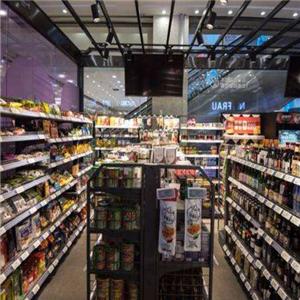 未来说无人超市货架