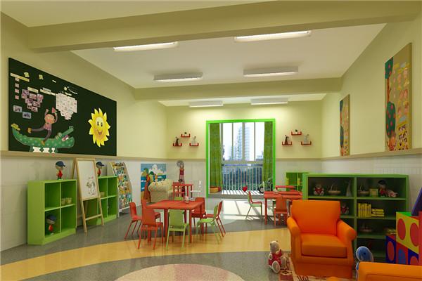 九莲新村幼儿园教室