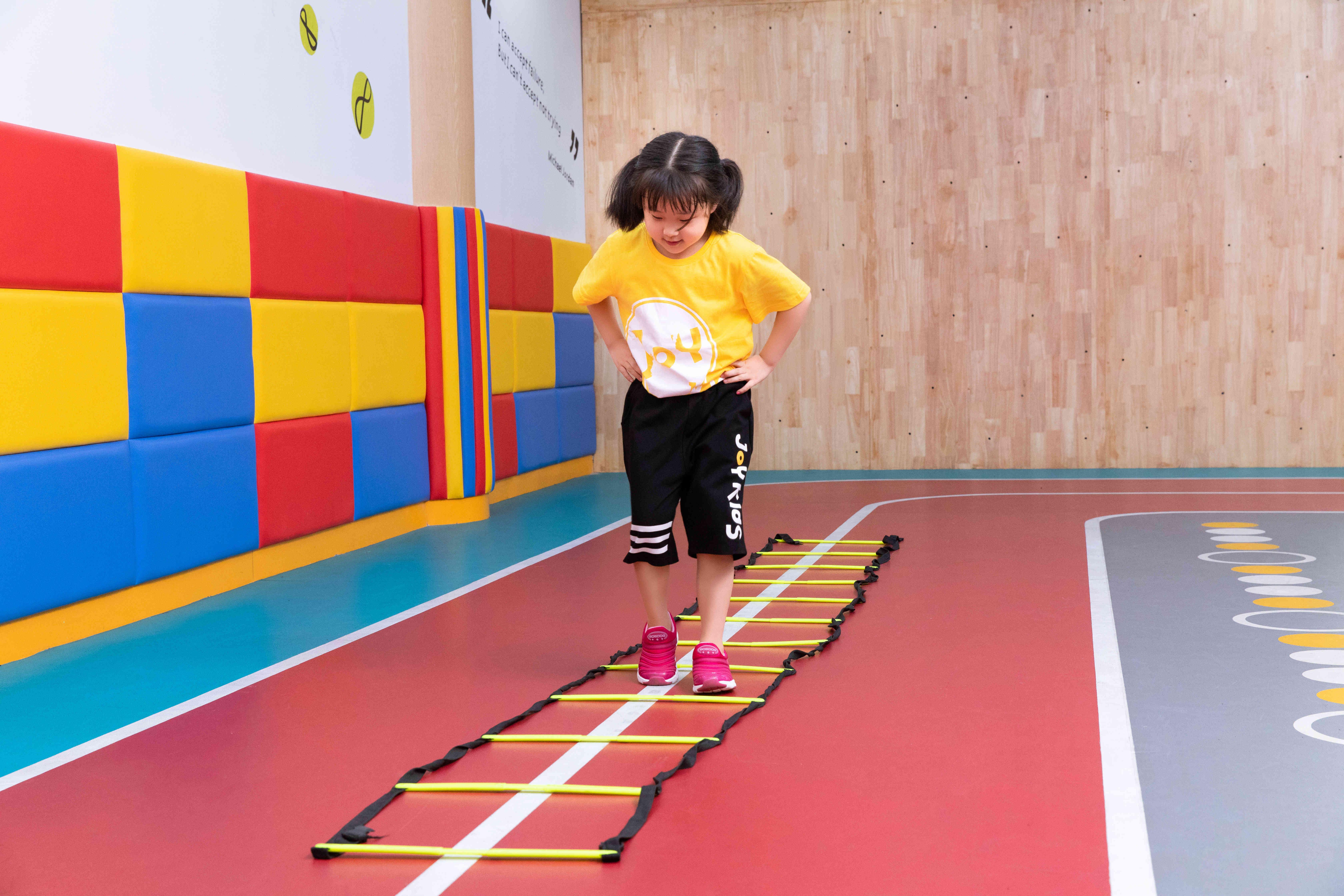 卓跃儿童体能教学