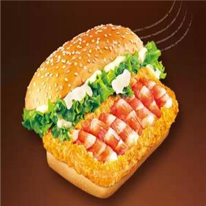 艾客莱炸鸡汉堡培根