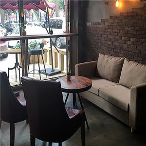 音乐主题咖啡厅雅座