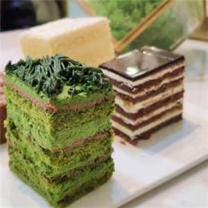 绿季法式甜品展示